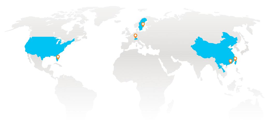 6 Global Presence